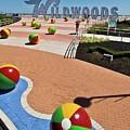 Wildwood's Sign, Boardwalk Wildwood, Nj. Copyright Aladdin Color Inc. by Retro Views