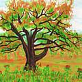 Willow Tree, Painting by Irina Afonskaya
