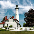Wind Point Lighthouse by Randy Scherkenbach