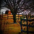Winding Fence by Joyce Kimble Smith