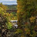 Winsor Dam Bridge by Arthur Dodd