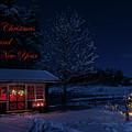 Winter Night Greetings In English by Torbjorn Swenelius