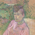 Woman In The Garden Of Monsieur Forest by Henri De Toulouse Lautrec