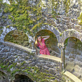 Woman Tourist In Sintra by Benny Marty