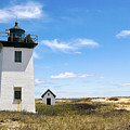 Wood End Lighthouse In Provincetown On Cape Cod Massachusetts by Matt Suess