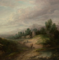 Wooded Upland Landscape by Thomas Gainsborough