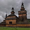 Wooden Church In Krempna by Jaroslaw Blaminsky