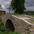 Wooden Church In Olchowiec by Jaroslaw Blaminsky