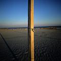 Wooden Post by Bernard Jaubert