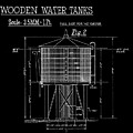Wooden Water Tanks by Brad Brailsford