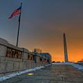 World War II Memorial Sunrise by Craig Fildes