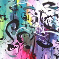 Abstract Calligraphy by Seon-jeong Kim