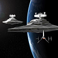 Star Wars The Trilogy Art by Larry Jones