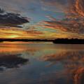 20- Sunset At Burnt Bridge by Joseph Keane