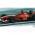 2000 Ferrari F1-2000 by Artem Oleynik