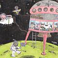 2001 A Swine Odyssey by Steve Royce Griffin