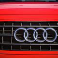 2002 Audi Emblem -0083c2 by Jill Reger