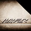 2006 Dodge Viper Srt 10 Emblem -0062s by Jill Reger