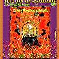 2007 Artstravaganza Poster Skeleton In Pot A by Carolyn Coffey Wallace