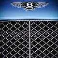 2007 Bentley Continental Gtc Convertible Hood Ornament by Jill Reger