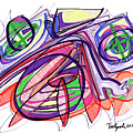 2010 Abstract Drawing Eleven by Lynne Taetzsch