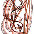 2010 Abstract Drawing Five by Lynne Taetzsch