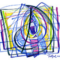 2010 Abstract Drawing Nineteen by Lynne Taetzsch