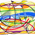 2010 Abstract Drawing Sixteen by Lynne Taetzsch