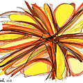 2010 Abstract Drawing Thirteen by Lynne Taetzsch
