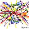 2010 Abstract Drawing Twelve by Lynne Taetzsch
