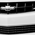 2010 Chevrolet Nickey Camaro Ss Grille Emblem -0078bw by Jill Reger