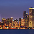2010 Chicago Skyline by Donald Schwartz