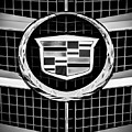 2011 Cadillac Cts Performance Collection Emblem -0584bw45 by Jill Reger
