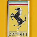 2012 Ferrari Hood Emblem by Paul Ward