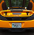 2012 Mc Laren Exhausts And Taillights by Robert Kinser