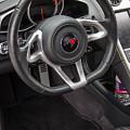 2012 Mc Laren Steering Wheel by Robert Kinser