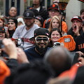 2012 San Francisco Giants World Series Champions Parade - Sergio Romo - Dpp0007 by Wingsdomain Art and Photography