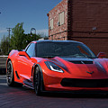 2015 Corvette Stingray  by Dave Koontz
