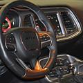 2015 Dodge Challenger Srt Hellcat Interior by Mike Martin