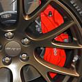 2015 Dodge Challenger Srt Hellcat Wheel by Mike Martin