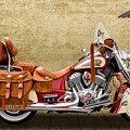 2015 Indian Chief Vintage Motorcycle - 2 by Frank J Benz