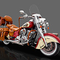 2015 Indian Chief Vintage Motorcycle - 3 by Frank J Benz