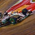 2015 Lewis Hamilton Mercedes by Blake Richards
