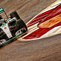 2015 Nico Rosberg Mercedes  by Blake Richards