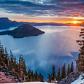 2015 Spring Sunrise From Discovery Point by Greg Nyquist