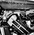 2016 Brough Superior Ss100 Monochrome by Tim Gainey