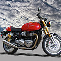 2016 Triumph Cafe Racer Motorcycle by Nick Gray