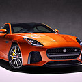 2017 Jaguar F Type by Movie Poster Prints