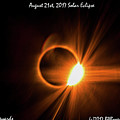 2017 Solar Eclipse - Diamond Ring by Barbara Bowen