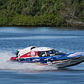 2017 Taree Race Boats 01 by Kevin Chippindall